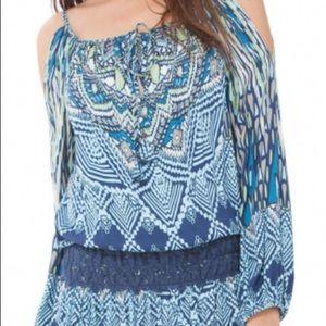Hale Bob size medium Savana Blouson dress